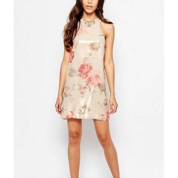 Малка семпла рокля от шифон