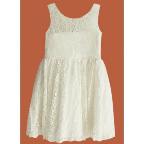 Семпла дантелена рокля