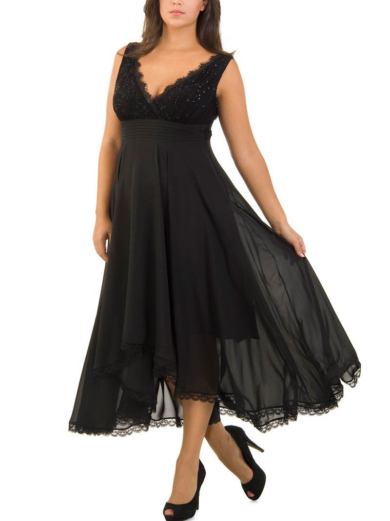 dfa654f73ee Макси рокли в големи размери - alert.bg